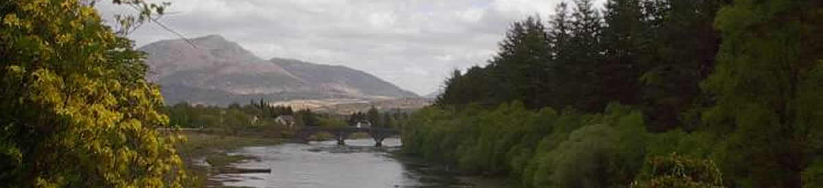 Ben Resipole and River Shiel Ardnamurchan Scotland