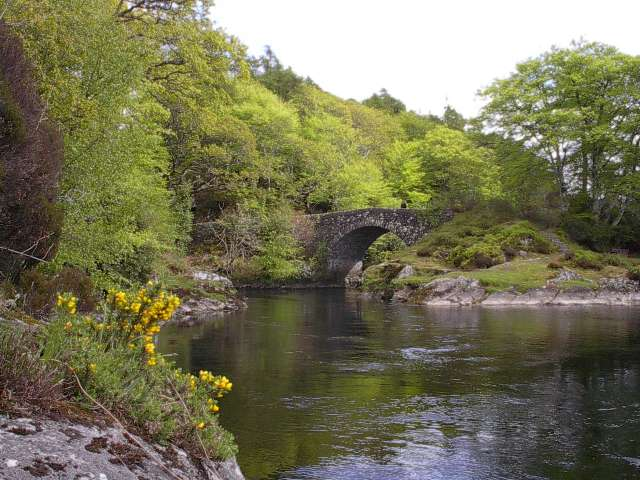 Old Shielbridge over Rover Shiel